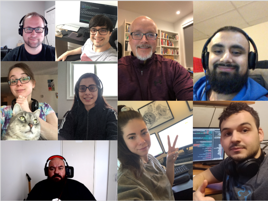 Our team is working remotely!